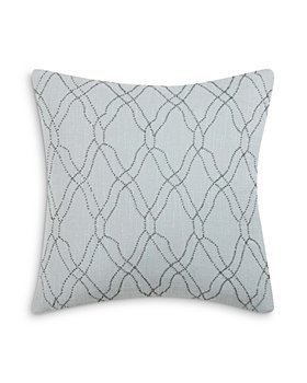 "Charisma - Legacy Beaded Decorative Pillow, 18"" x 18"""