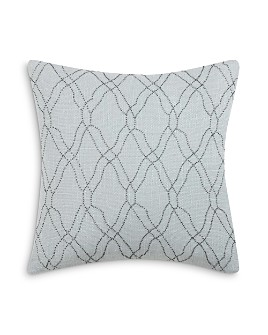"Charisma - Legacy Beaded Decorative Pillow, 18"" x 18"""
