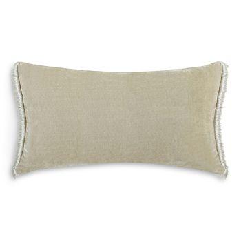 "Charisma - Bellissimo Velvet Decorative Pillow, 16"" x 28"""