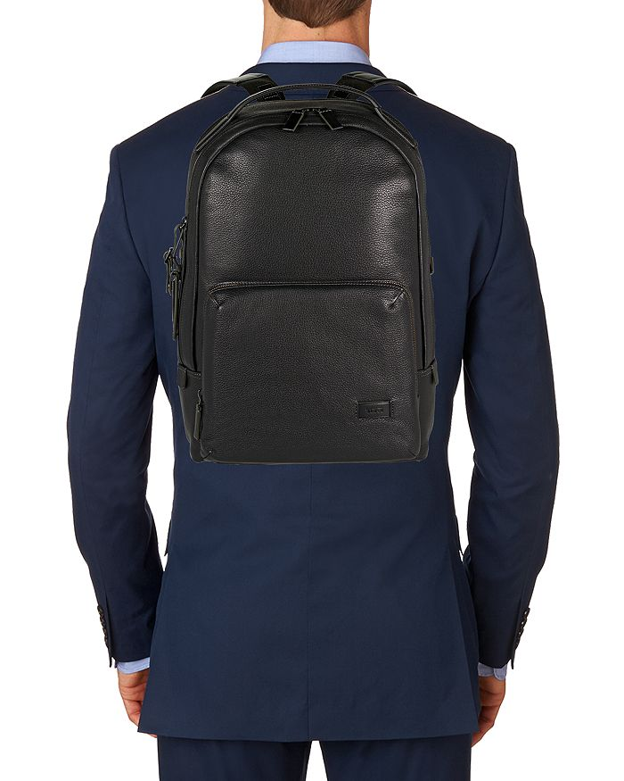 Tumi - Harrison Leather Webster Backpack 220bb9d23acb6