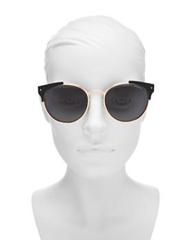 Polaroid - Women's Polarized Round Sunglasses, 56mm