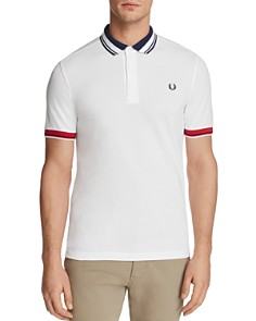 Fred Perry Tipped Pique Short Sleeve Polo Shirt - Bloomingdale's_0