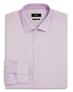 Boss Micro-Weave Slim Fit Dress Shirt