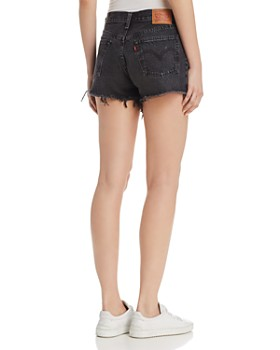Levi's - 501 Cutoff Denim Shorts in Black