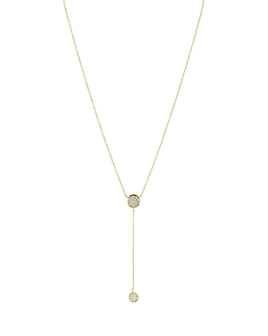 Lariat Necklace in 18K Gold-Plated Sterling Silver