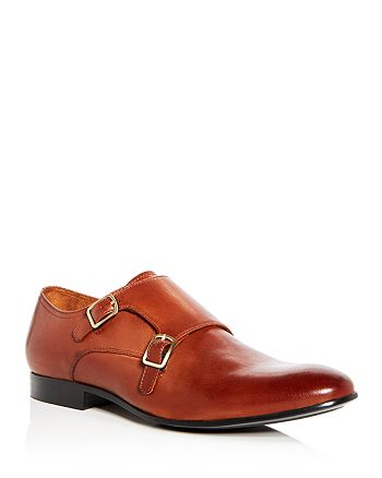 Kenneth Cole - Men's Mix Leather Double Monk Strap Oxfords