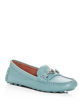 cead63e0cef COACH - Women s Crosby Leather Loafer Drivers