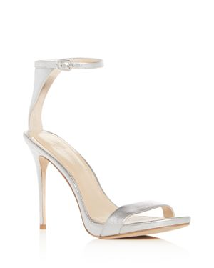 IMAGINE VINCE CAMUTO DACIA LEATHER ANKLE STRAP HIGH-HEEL SANDALS