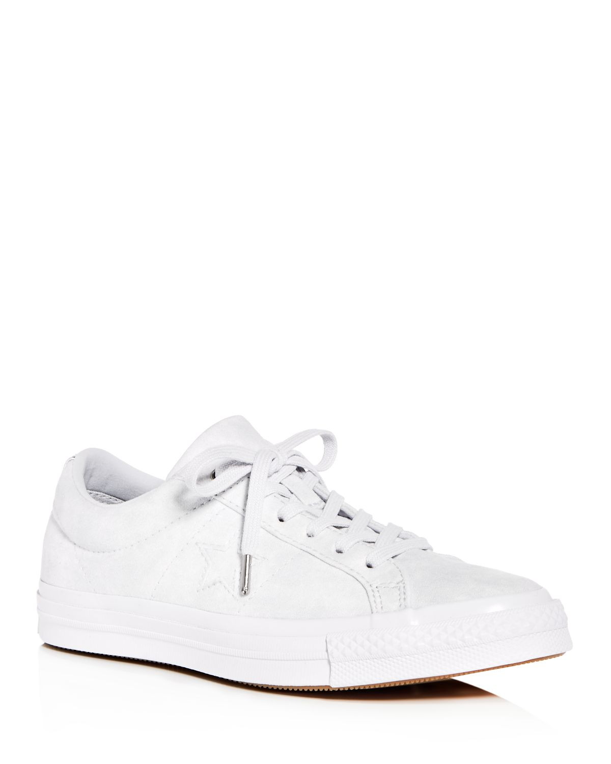 Converse Women's One Star Suede Lace Up Sneakers