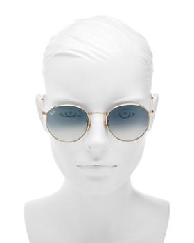 Ray-Ban - Unisex Gradient Round Sunglasses, 53mm
