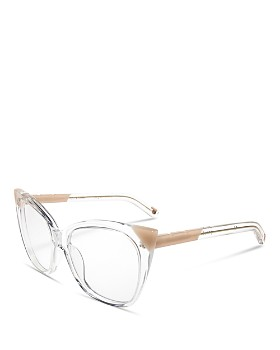 Pared Eyewear - Women's Cat & Mouse Cookies Cat Eye Glasses, 51mm