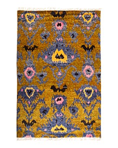 "Solo Rugs - Tribal Area Rug, 6'1"" x 9'1"""