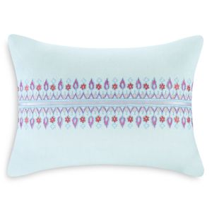 Echo Sofia Embroidered Decorative Pillow, 12 x 16