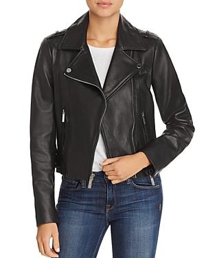 a78234c33828 MICHAEL MICHAEL KORS Asymmetric Zip Leather Jacket