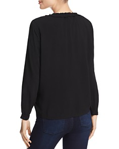 Velvet by Graham & Spencer - Samantha Split-Neck Top