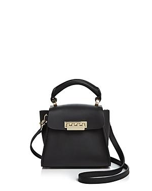 Zac Zac Posen Eartha Mini Top-Handle Leather Satchel-Handbags