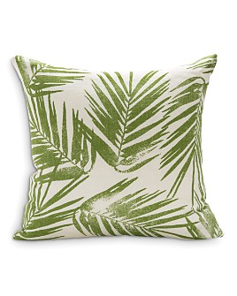 "Sugar Feather - Palm Decorative Pillow, 22"" x 22"""