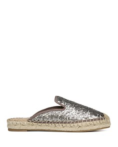 Sam Edelman - Women's Kerry Sequined Espadrille Mules