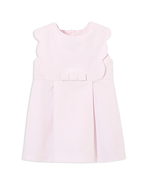 Jacadi Girls Scalloped Pique Dress  Baby