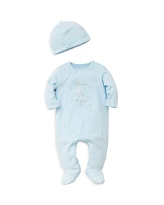 Little Me - Boys' Welcome to the World Footie & Cap Set - Baby