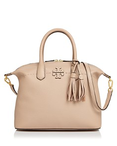 Tory Burch McGraw Slouchy Leather Satchel - Bloomingdale's_0