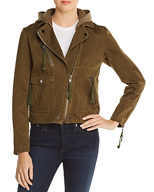 Doma Appliqued Army Jacket