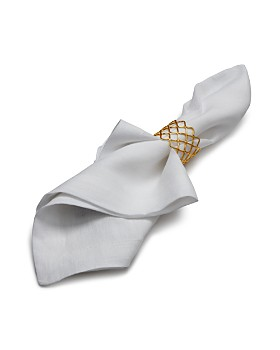 Aman Imports - Netted Brass Napkin Ring - 100% Exclusive