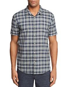 John Varvatos Star USA Plaid Regular Fit Button-Down Shirt - Bloomingdale's_0
