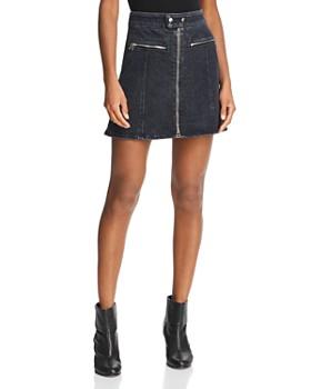 rag & bone/JEAN - Isabel Denim Mini Skirt