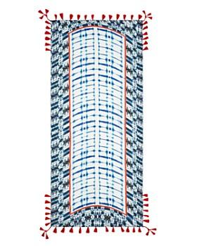 Fraas - Shibori Tasseled Oblong Scarf