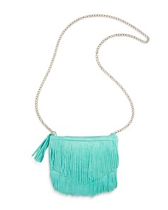 Capelli Girls' Faux-Suede Fringed Crossbody Bag - Bloomingdale's_0
