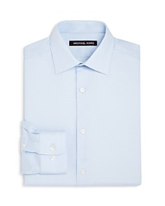 Michael Kors Boys' Tonal-Striped Dress Shirt - Big Kid - Bloomingdale's_0