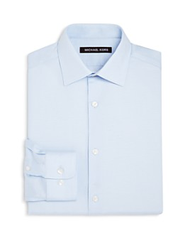 Michael Kors - Boys' Tonal-Striped Dress Shirt - Big Kid