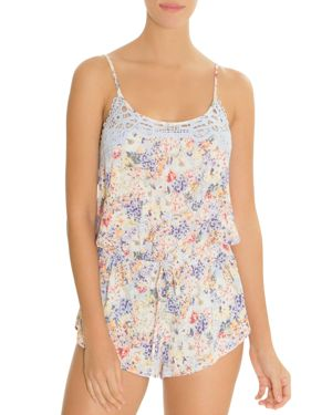 IN BLOOM BY JONQUIL FLORAL ROMPER