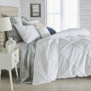 Peri Home Chenille Lattice Comforter Set FullQueen