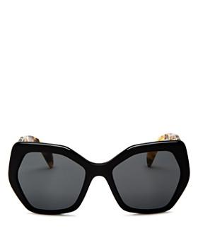 Prada - Women's Round Sunglasses, 54mm