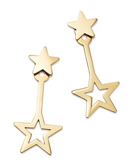 Moon & Meadow - Star Ear Jackets in 14K Yellow Gold - 100% Exclusive