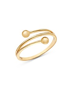 Moon & Meadow - Beaded Band Ring in 14K Yellow Gold - 100% Exclusive