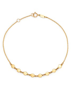 Moon & Meadow - Disc Chain Bracelet in 14K Yellow Gold - 100% Exclusive