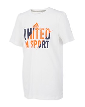 Adidas - Boys' United In Sport Tee - Little Kid, Big Kid