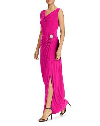 Ralph Lauren - Draped Jersey Gown