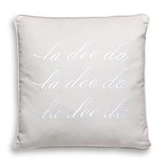 "kate spade new york La Dee Da Decorative Pillow, 16"" x 16"" - Bloomingdale's_0"