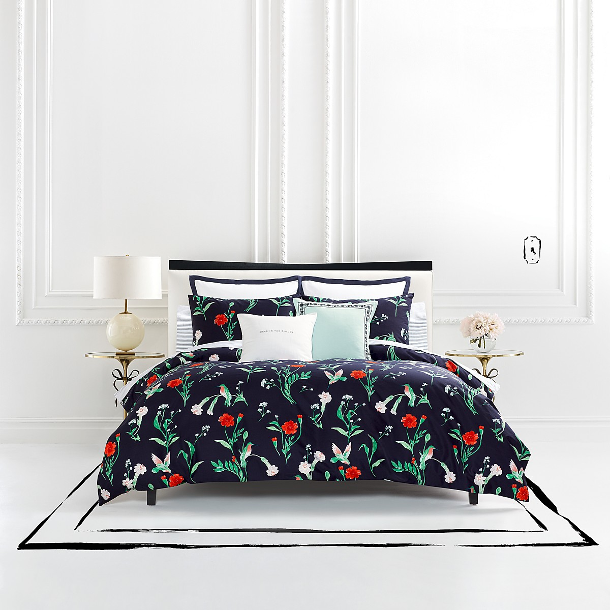 idea sets bedroom simple kate design best spade minimalist ideas of