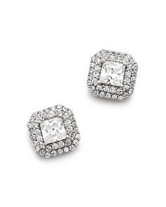 Bloomingdale's Diamond Halo Stud Earrings in 14K White Gold, 0.80 ct. t.w. - 1.50 ct. t.w. - 100% Exclusive_0