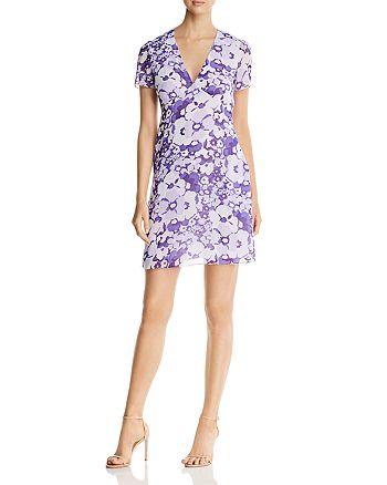 MICHAEL Michael Kors - Spring Floral V-Neck Dress