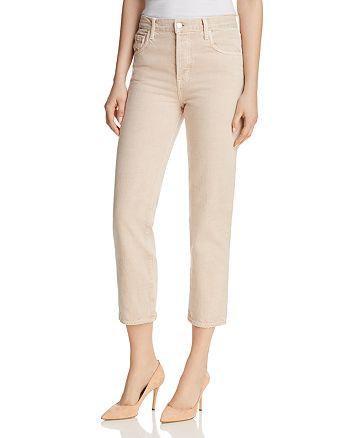 J Brand - Wynne Crop Straight Jeans in Memory