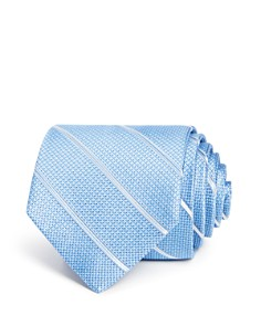The Men's Store at Bloomingdale's Textured Striped Classic Tie - 100% Exclusive_0