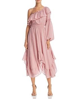 MISA Los Angeles - Vola One-Shoulder Dress