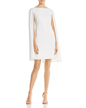 Adrianna Papell Cape Overlay Dress