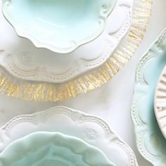 VIETRI - Incanto Lace Stoneware Salad Plate